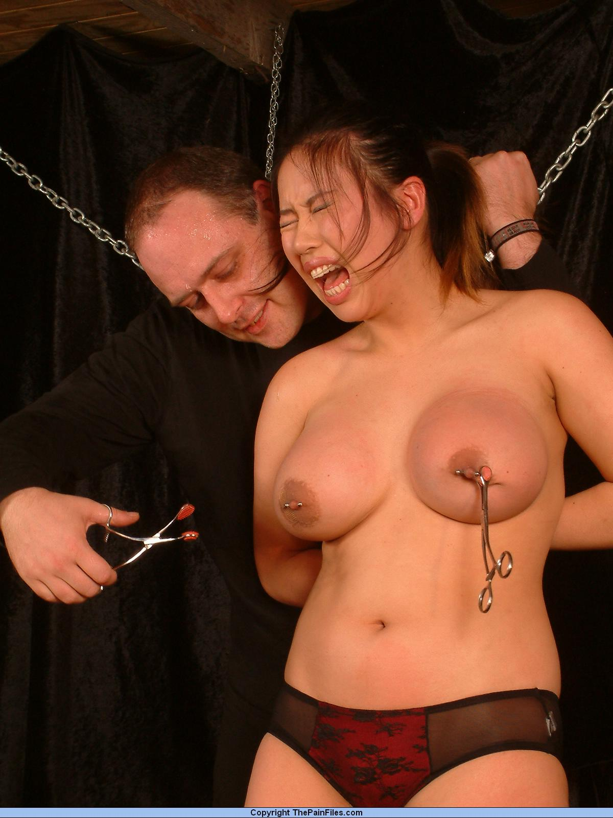 Shock bondage and bdsm guy first time