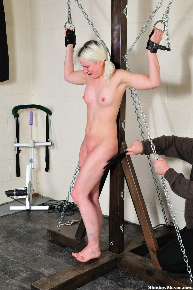 Sex Bondage Mädchen blonde Nackte Blond Porno