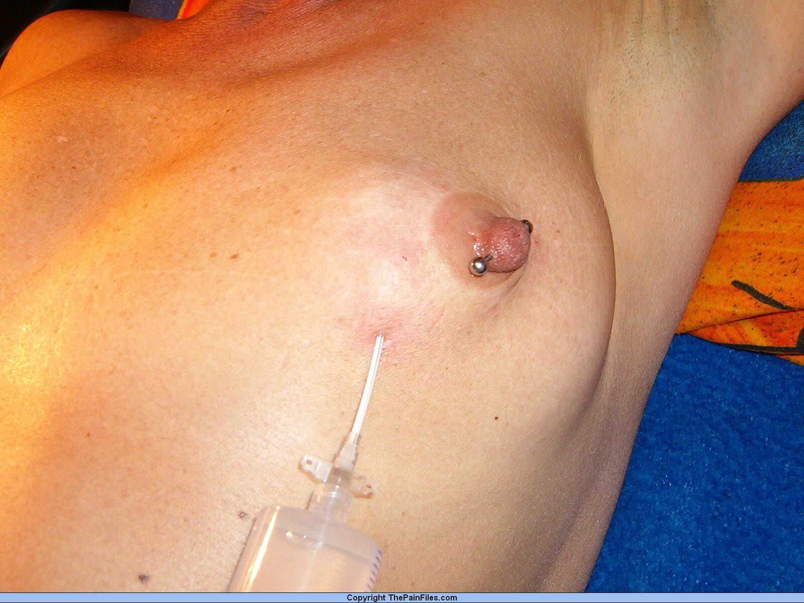 needle nipple injection picture sex